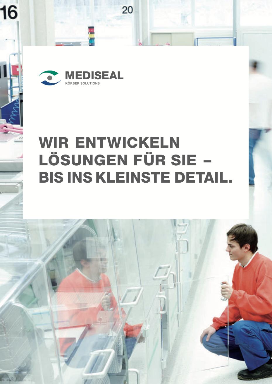 Mediseal Kundenbroschüre