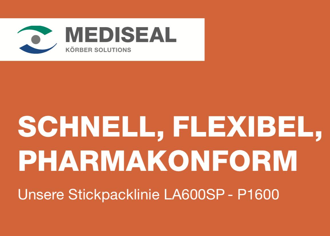 Cover_Mediseal_0024_LA600-SP_Stickpack_Machine_Poster_DE