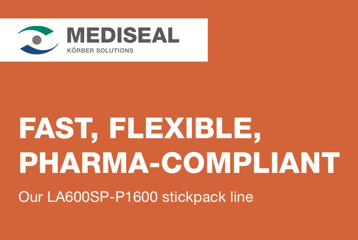 Mediseal LA600SP Stickpack Machine