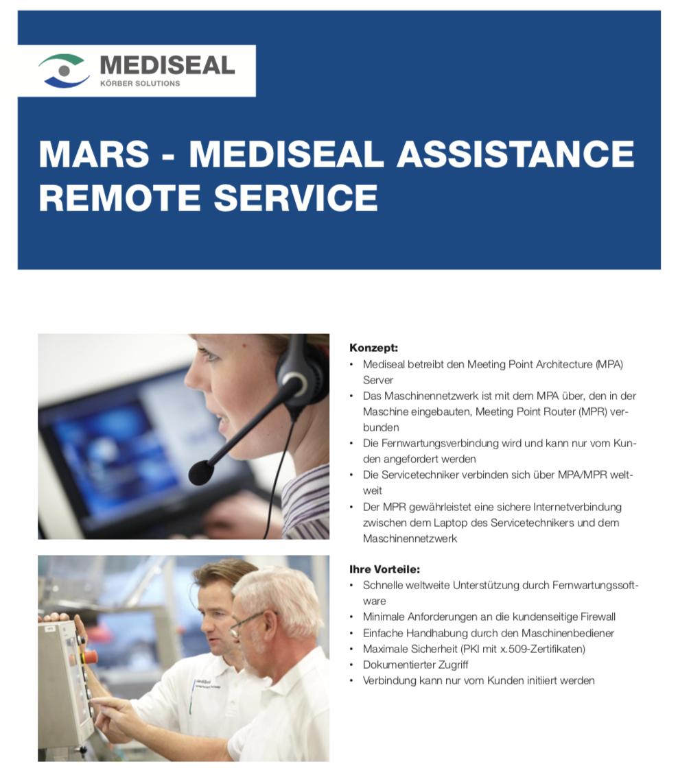 Cover_Mediseal_0031_MARS_Remote_Service_DE